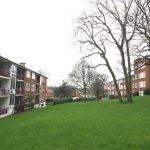 Housing Estate in Winter, London SW19