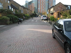 Clean roadway